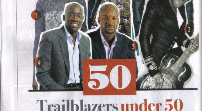 A future made in Africa: 50 Trailblazers under 50 MADE IN AFRICA includes a .africa applicant