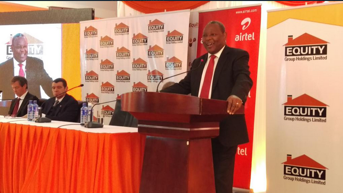 Battle for the mobile money market share, Kenya's Equity Bank launches Equitel to compete with Mpesa
