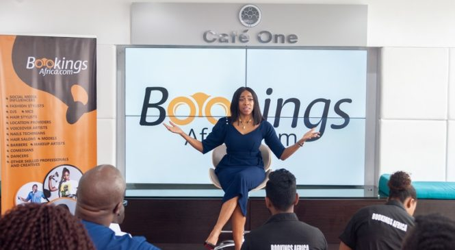 Bookings Africa Launched its new app
